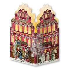 BuyCoppenrath Nostalgic Christmas House Mini Advent Calendar Lantern, Assorted Online at johnlewis.com