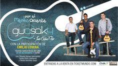 """Cresta Metálica Producciones » Guasak4, Juan Carlos Ruiz y Emilio Lovera fusionan la música con el humor para presentar """"Por el medio Oriente"""""""