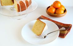 Clementine Cake with Citrus Glaze.  I'll be making this with Satsumas