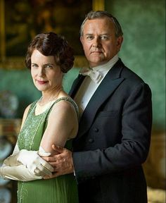 Downton Abbey - Cora and Robert. Lord and Lady of Grantham