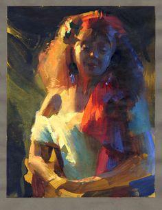 Art: Nathan Fowkes, Portraits ~ Lighting Pixels