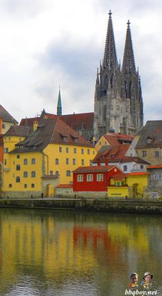 This Germany city is one of the most surprising places I've been to. Much more here on beautiful Regensburg: http://bbqboy.net/travel-tips-and-pleasant-surprises-regensburg-germany/