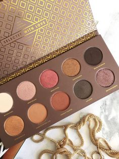 Blogging with Graceylee: Review; Zoeva Cocoa Blend palette