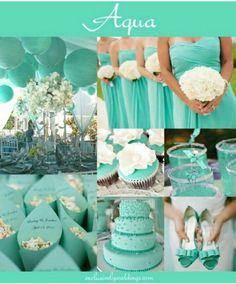Azulverde para todo lo de la boda