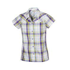 Halti Roosa -paita siirtää kosteutta tehokkaasti ja pitää kuivan tuntuisena. (54,90€) #Halti #T-shrit #Plaid #Checked Button Down Shirt, Men Casual, Mens Tops, Shirts, Fashion, Moda, Dress Shirt, Fashion Styles, Dress Shirts