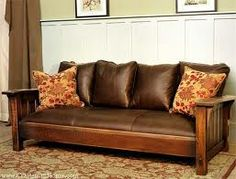 Amish Moon River Mission Sofa Mission style furniture Living