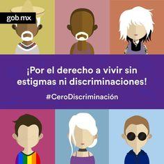 No te pierdas ningún detalle de la tendencia #CeroDiscriminación y promovamos la tolerancia y la paz.http://qoo.ly/e4vsb