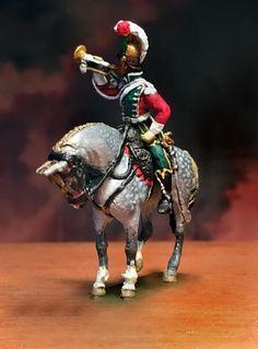 Tromba dei cavalleggeri lancieri francesi