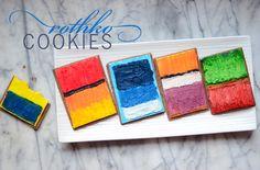 edible  Rothko Cookies