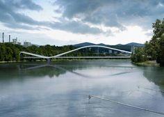 Rheinsteg Footbridge