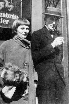 Emmy Hennings and Hugo Ball