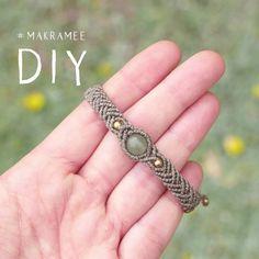 Macrame Bracelet Patterns, Diy Bracelets Patterns, Diy Bracelets Easy, Handmade Bracelets, Handmade Wire Jewelry, Diy Crafts Jewelry, Bracelet Crafts, Beaded Jewelry, Beaded Bracelets