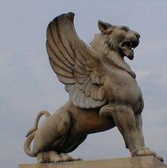 Winged lion tattoo - photo#55