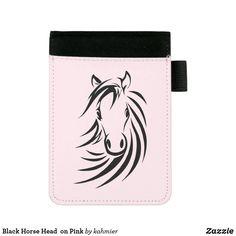 Black Horse Head  on