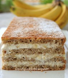 Banana Greek Yogurt Cake. I have got to try this!!