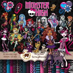 Kit Scrap Digital - Monster High