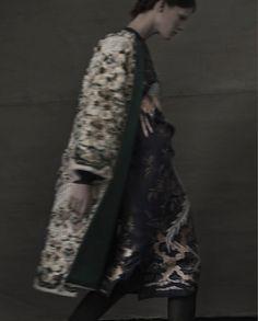 +1 for a dramatic coat.  Sarah Moon.