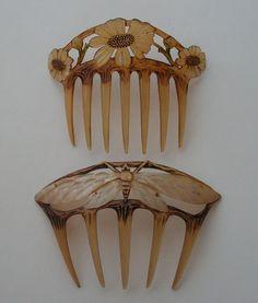 Horn Combs - Elizabeth Bonté.