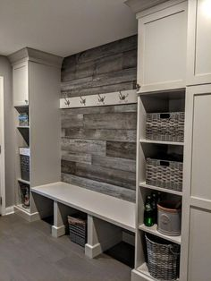 Wonderful Laundry Room Storage Organization Ideas On A Budget – Laundry room remodel Laundry Room Organization, Laundry Room Design, Storage Organization, Storage Ideas, Garage Storage, Storage Shelves, Diy Storage, Home Renovation, Home Remodeling