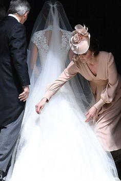 Pippa Middleton's Wedding Dress Revealed   Vanity Fair