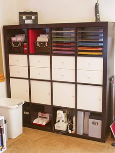 scrapbook rooms | Shared-Space Scrapbooking Studio: Pick Pieces With Flexible Storage ...