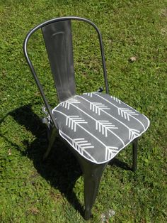 Check out this item in my Etsy shop https://www.etsy.com/listing/235730103/chair-pad-2-inch-foam-made-to-order