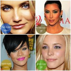 What Color Eye Shadow Best Complements Your Eyes?