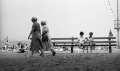 Women and Girls, Lake Michigan Chicago, 1950s by Maggie Diaz