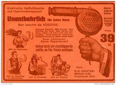 Original-Werbung/Inserat/ Anzeige 1912 - FÖN - ca. 180 x 130 mm