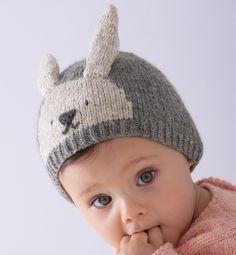 Un bonnet petit lapin à tricoter   Kanička   Pinterest   Crochet ... 4cb1be8a5ff
