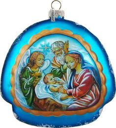 Check out Nativity Rainbow Limited Edition / Numbered Ornament; Handcrafted Old World Special Edtion Collection(756-008) on gdebrekhtgallery