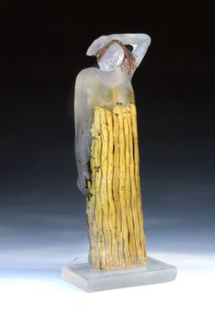 """Too Many Secrets"" Jan Kransberger Exhibiting members in Glass Different Forms Of Art, Art Corner, Glass Artwork, Unusual Art, Fused Glass Art, Stained Glass, Hanging Art, New Art, Sculpture Art"