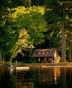 Rustic Cabin, Lake Merwin, WA