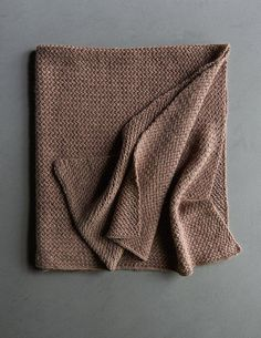 Plaited Throw – a free knitting pattern by Purl Soho. Knitted Throw Patterns, Knitted Afghans, Knitted Blankets, Knitting Patterns Free, Free Knitting, Baby Knitting, Free Crochet, Knit Crochet, Baby Blankets