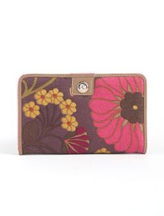 my new purchase for spring - Sarah Snap Wallet by Spartina