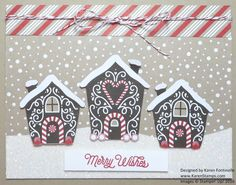 Just cut out some houses from the Candy Cane Lane paper to make a fun Christmas Card!  https://www.stampinup.com/ECWeb/ProductDetails.aspx?productID=141981&dbwsdemoid=54345