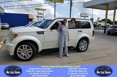 Congratulations Carla on your #Dodge #Nitro from Reuben Flores at My Car Store!  http://deliverymaxx.com/DealerReviews.aspx?DealerCode=OUVL  #MyCarStore