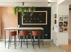 Jungle Wallpaper, Lancelot, Chaise Bar, Showroom, Decoration, Blog, Furniture, Home Decor, Gold Paint