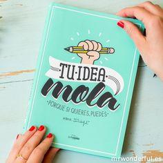 """Mr.Wonderful: Libro """"Tu idea mola. Porque si quieres, puedes"""" #book"""