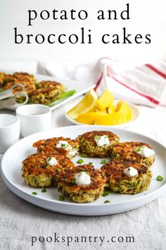 Savoury potato cakes with broccoli are a great make-ahead lunch. Stock the freezer with half of the batch for busy weeks when you need a quick meal. With ever-changing schedules, we could all use a quick and healthy at home lunch option.  #potatocakes #potatoveggiecakes #potatobroccolicakes #potatorecipes #potatosidedish #sponsored @idahopotato Healthy Dishes, Easy Healthy Dinners, Healthy Cooking, Weeknight Dinners, Vegetarian Breakfast Recipes Easy, Veggie Cakes, Planning Menu, How To Make Potatoes, Potato Side Dishes