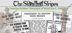 From February 8, 1918, to June 13, 1919, by order of General John J. Pershing, the United States Army published a newspaper for its forces in France, The Stars and Stripes. This online collection, presented by the Serial and Government Publications Division of the Library of Congress, includes the complete seventy-one-week run of the newspaper's World War I edition.