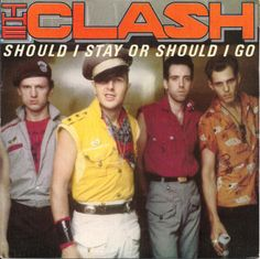 "The Clash- Should I Stay Or Should I Go [1982, CBS A-2646│Spain] - 7""/45 vinyl record"