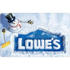 Lowe's gift card - there's one not far from us and we can get more BLINDS! Or paint. Or other things for the apartment.