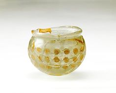 Scientists say a cut glass bowl excavated from a 5th-century burial mound in Nara Prefecture originated in ancient Persia, the first domestic glassware scientifically confirmed to have arrived from western Asia. The chemical composition was almost identical to that of glass shards excavated from the ruins of a palace from the Sasanian Empire (226-651) in present-day Iran and Iraq.The glass bowl is on display at the Tokyo National Museum through Dec. 7.