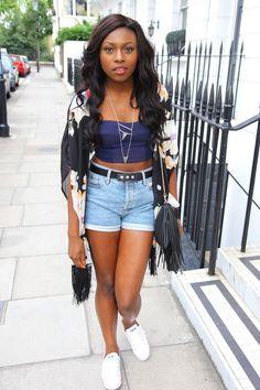 Patricia Bright - British youtuber/ fashion blogger #blackgirl #beautiful #fashionable