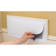 Magnetic Vent Covers. $9.95/3-pack. Cover vents in unused rooms for energy efficiency.