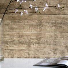 Oak Wood Effect Textured Wallpaper Reclaimed Wood Wallpaper, Wood Plank Wallpaper, Wallpaper Furniture, Room Wallpaper, Wood Effect Wallpaper, Textured Wallpaper, Wood Planks, Wood Paneling, Feature Wallpaper Living Room