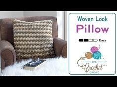 The Woven Look Pillow is very similar to the basket weave concept. The pattern has two rows of the same colour before switch over. The best thing about this ...