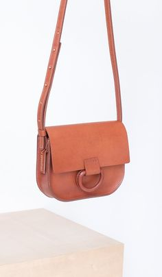 Crescioni Mini Logan Bag: Saddle - Spartan Shop