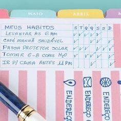 Listas são amigas: anote tudo o que precisa fazer antes de sair, mesmo que pareça óbvio.